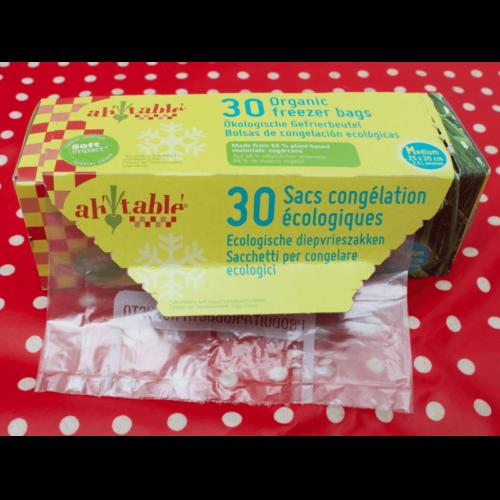 AH Table bioplastic zakjes