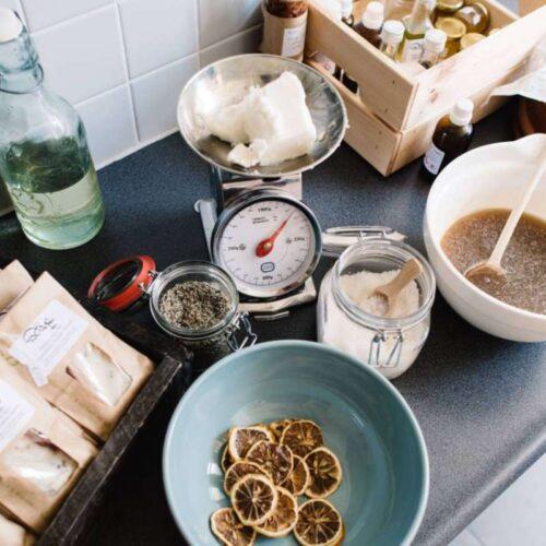 Natural Lotion Bar 'Doing bar time' van DIYS Soap Prepare