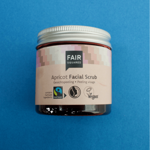 fair squared facial scrub