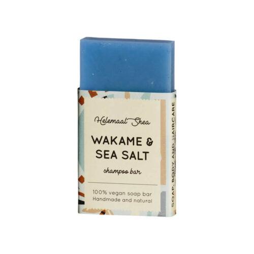Wakame & Zeezout Haarzeep van HelemaalShea - Mini