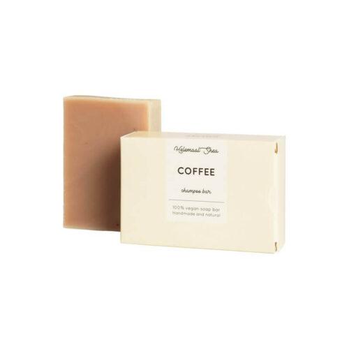 haarzeep koffie HelemaalShea