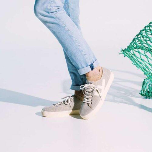 Sneakersokken Bleak van Healthy Seas Socks