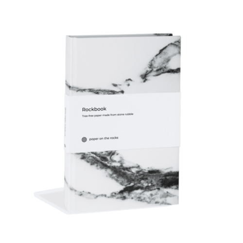 paper on the rocks hardcover marble wit