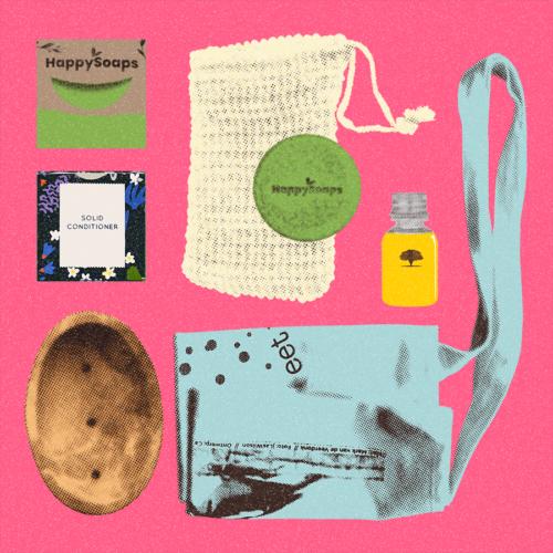 scent-er of attention; pakket voor heerlijk geurende lokken