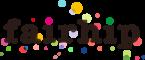 LOGO FAIRHIP typeface kleur transparant